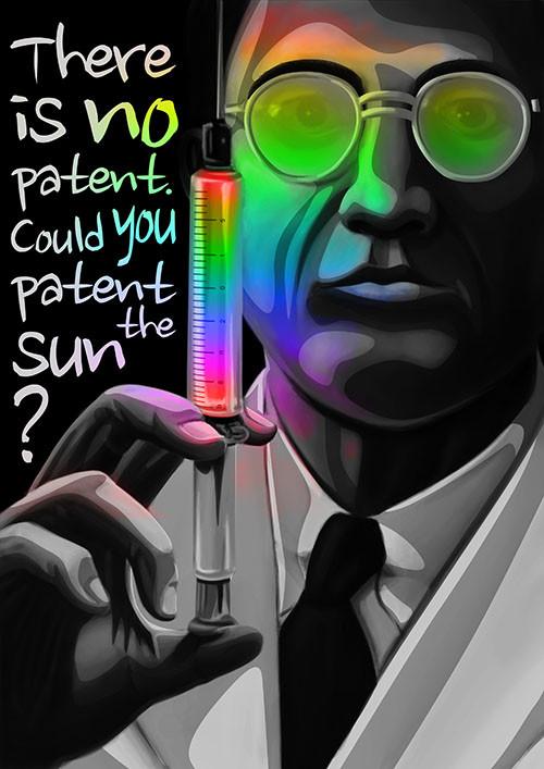 Could you patent the sun?           Μπορείς να πατεντάρεις τον ήλιο;